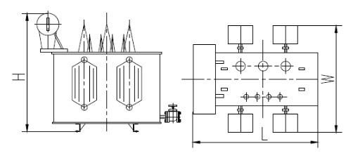 10kv/20kv /35kv系列配电变压器